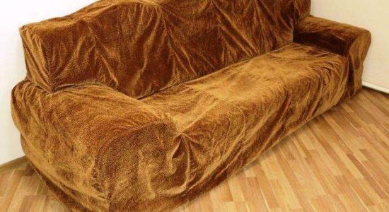 Химчистка чехла от дивана, свадебного платья со скидкой -30%