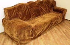 Химчистка чехла от дивана со скидкой -30%