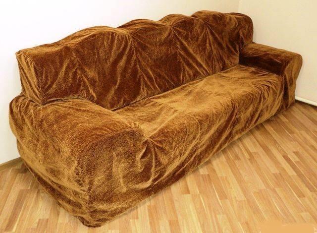 Химчистка чехла с дивана