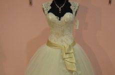 Скидка -30% на химчистку свадебного платья