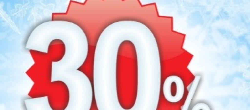 Скидка -30% на химчистку верхней одежды