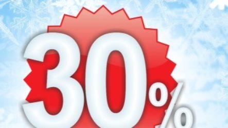 Скидка -30% на все услуги химчистки